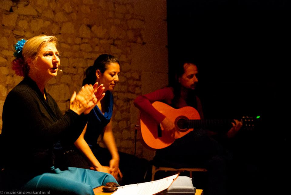Flamenco peña Frankrijk - Judy Koot