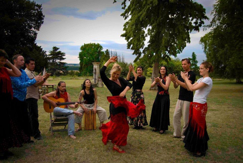 Flamencoweek Frankrijk - Flamencofeestje